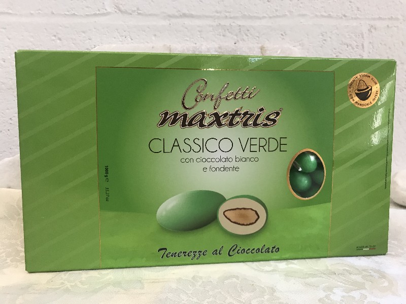 Feesten, speciale gelegenheden Confetti Maxtris Classico Verde 1 kg