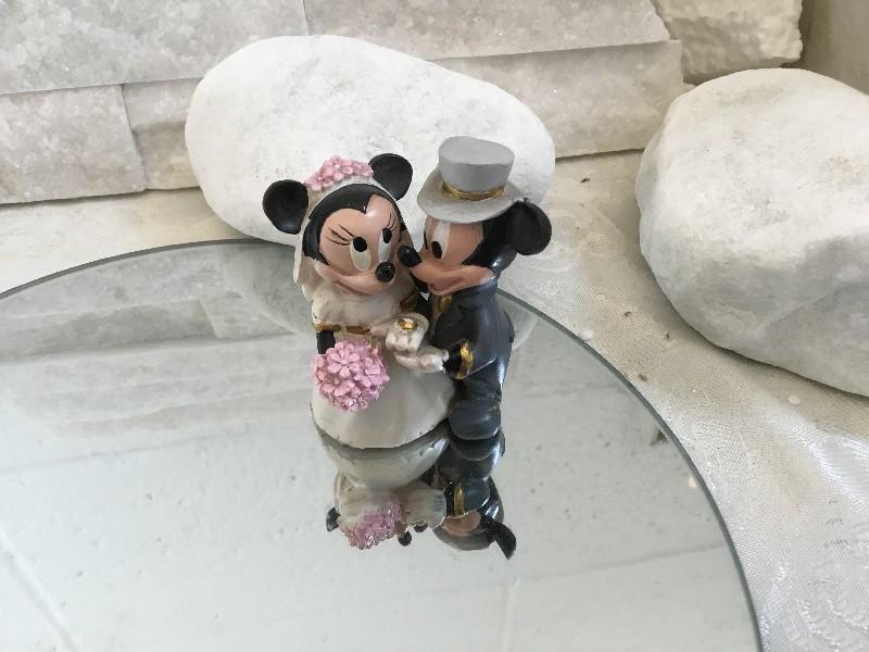 Bomboniere Matrimonio Disney.Bomboniere Disney E Cartoni Sposi Disney Minnie E Mickey H6cm